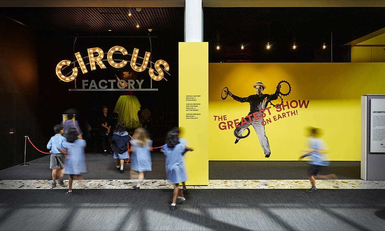 Circus Factory Exhibition