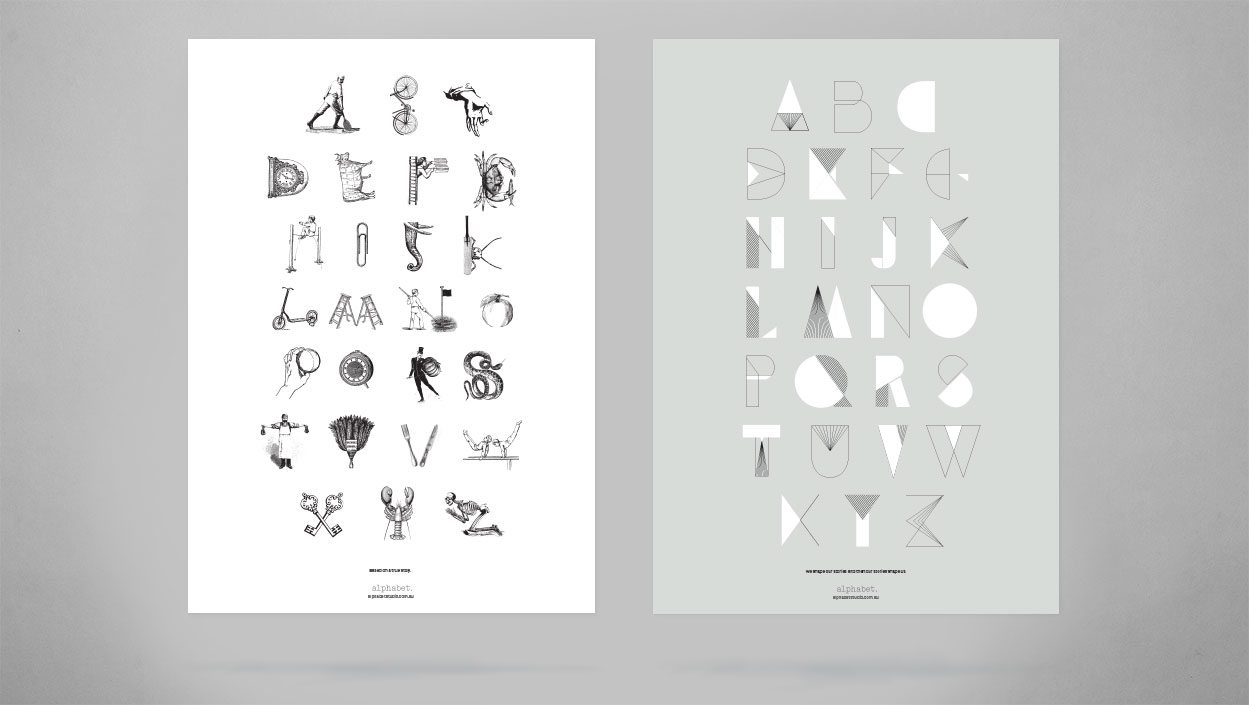 Alphabets by alphabet