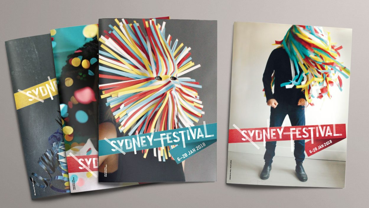 Sydney Festival 2017-18 brand and campaign