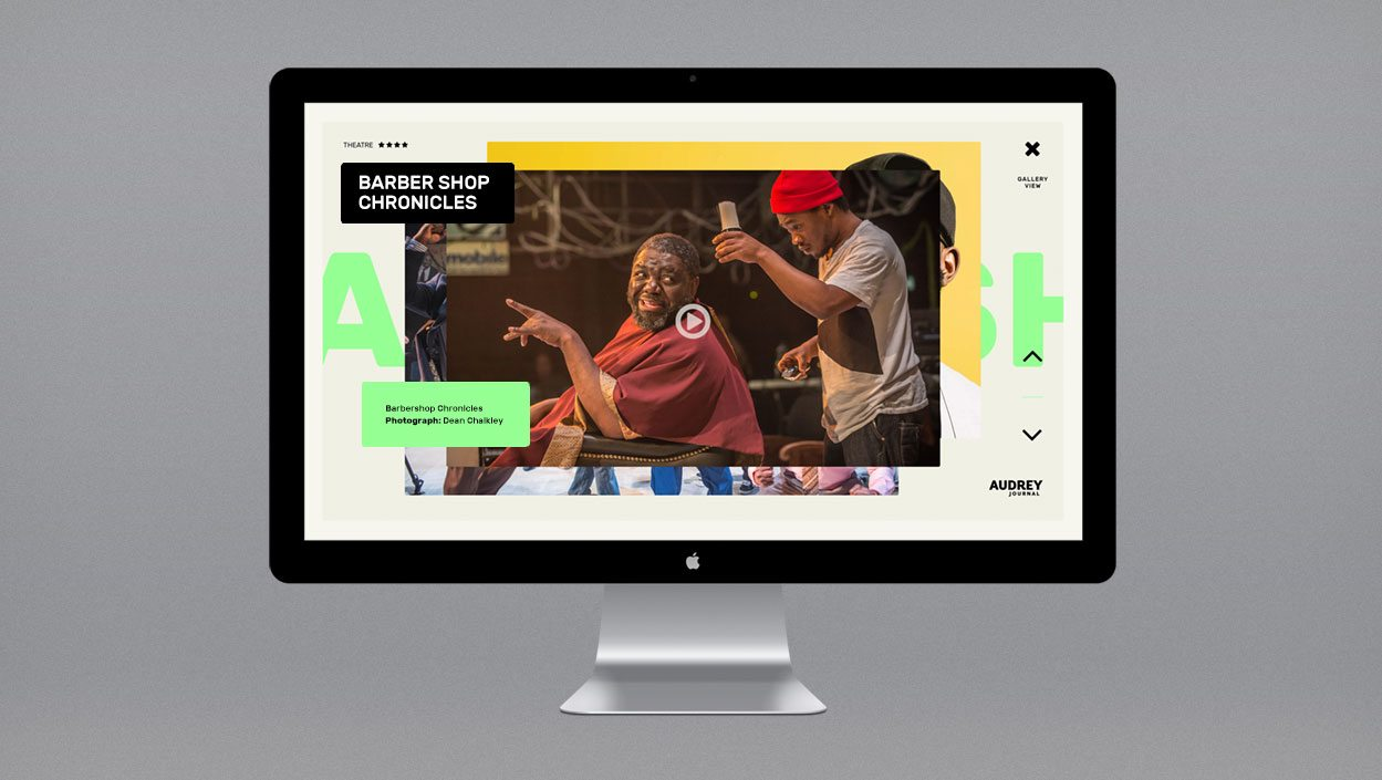 Audrey Journal – brand and website design