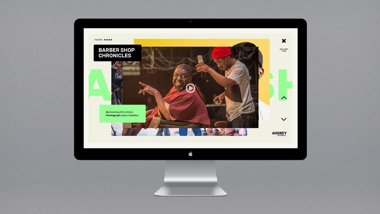 Audrey Journal – brand and website design