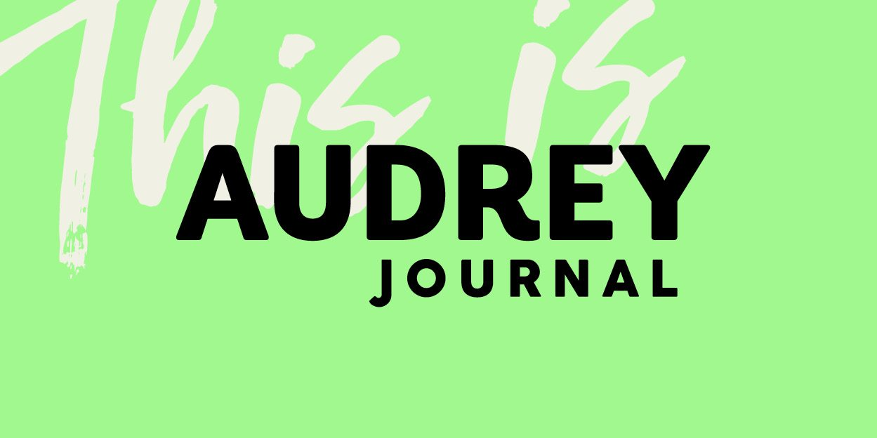 Audrey Journal – brand and website