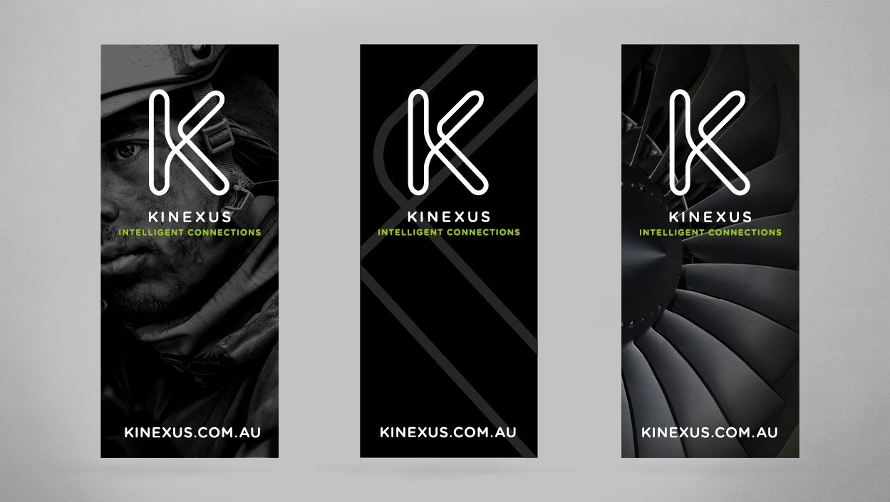 Kinexus brand strategy and identity