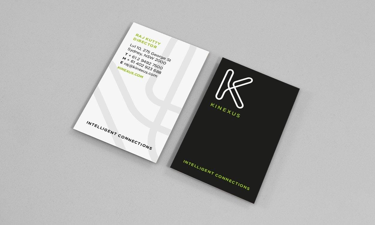 Kinexus brand strategy and identity