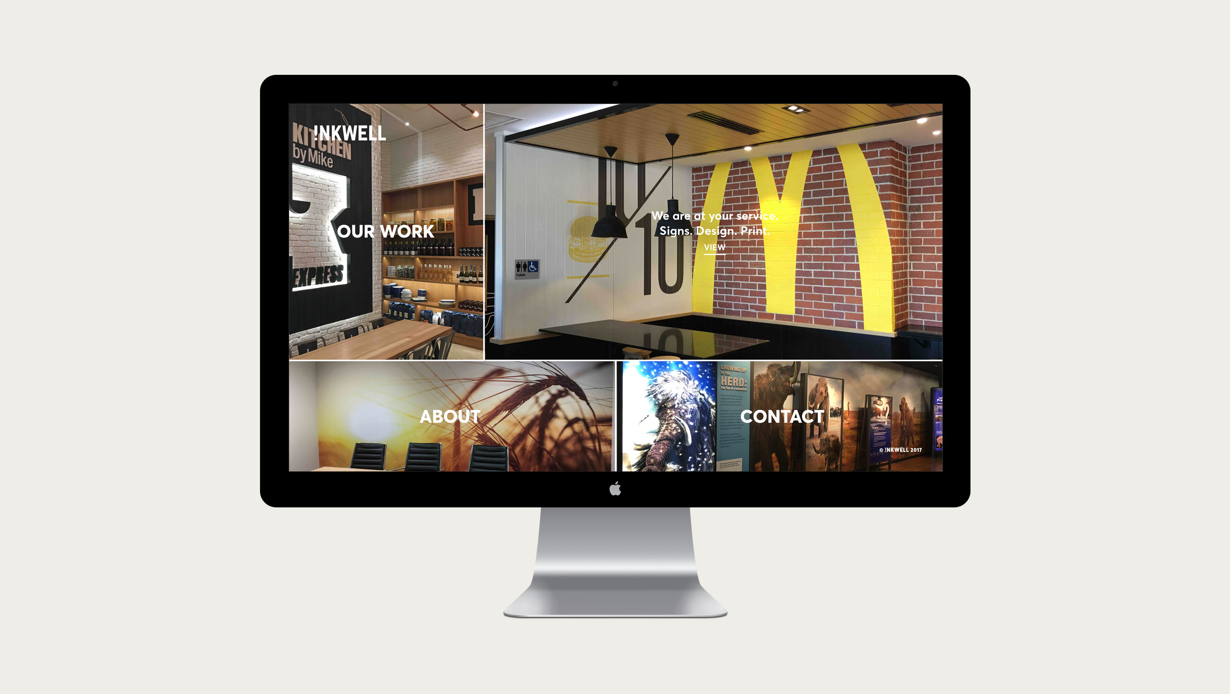 inkwell brand and website